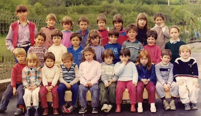 Bellecombe 1982 maternelle