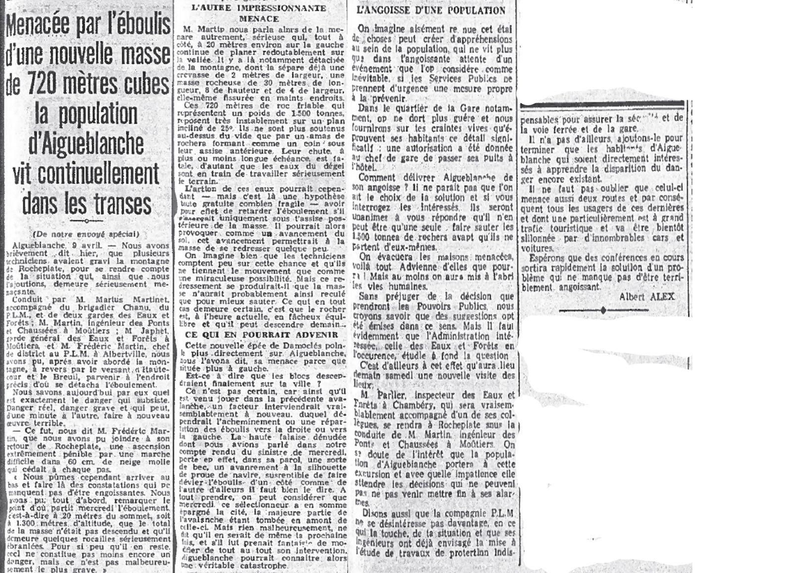 le petit dauphinois samedi 10 avril 1937(cliquez pour agrandir)
