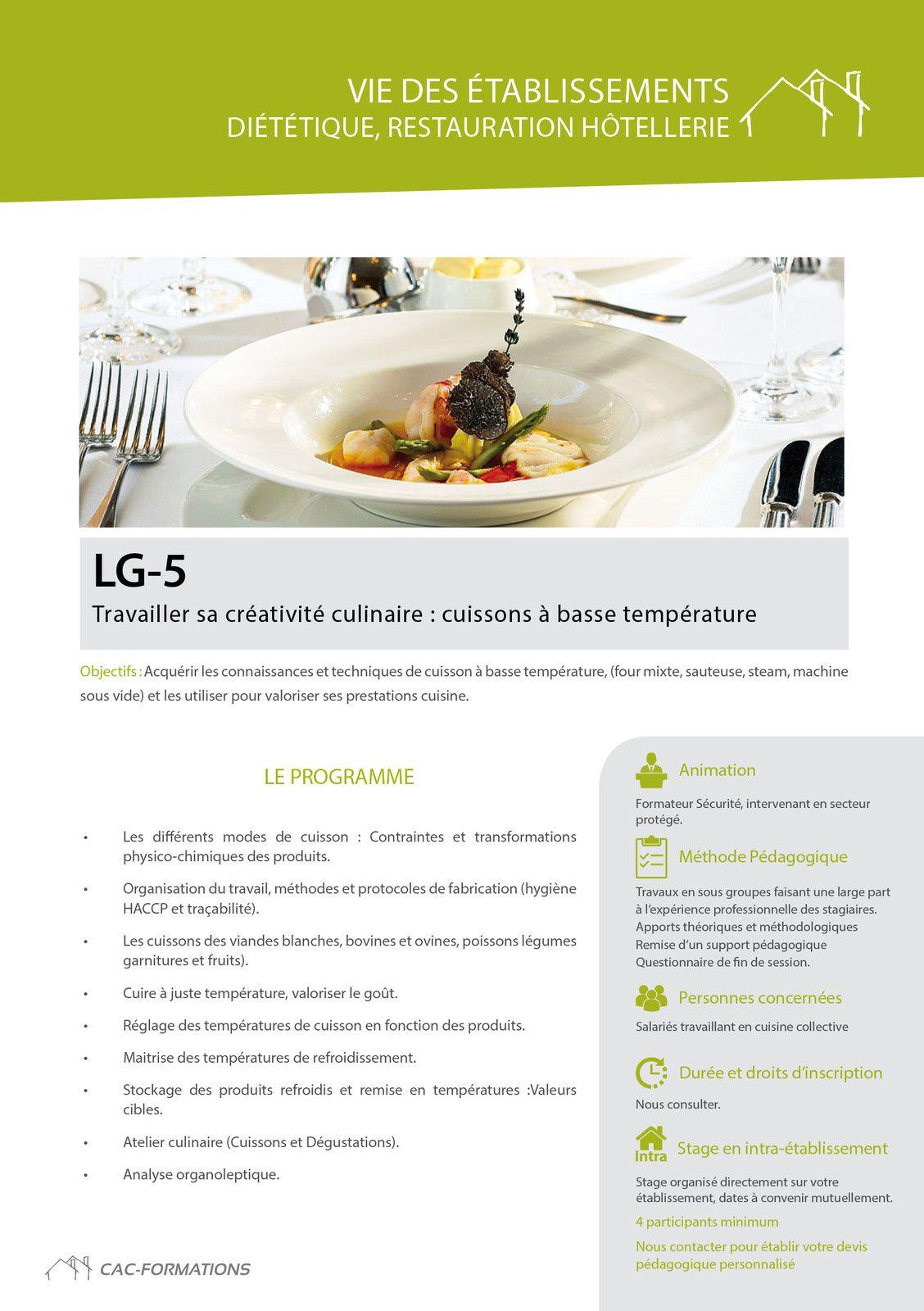 des formations Cuisine,Nutrition,diététique adaptées aux besoins en direct sur votre établissement :www:cac-formations.net