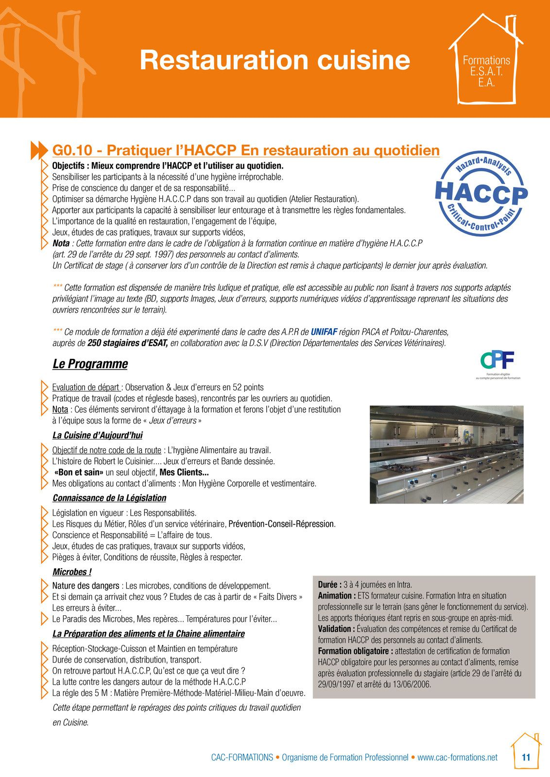 toutes nos formations sont sur wwwcac-formations.net