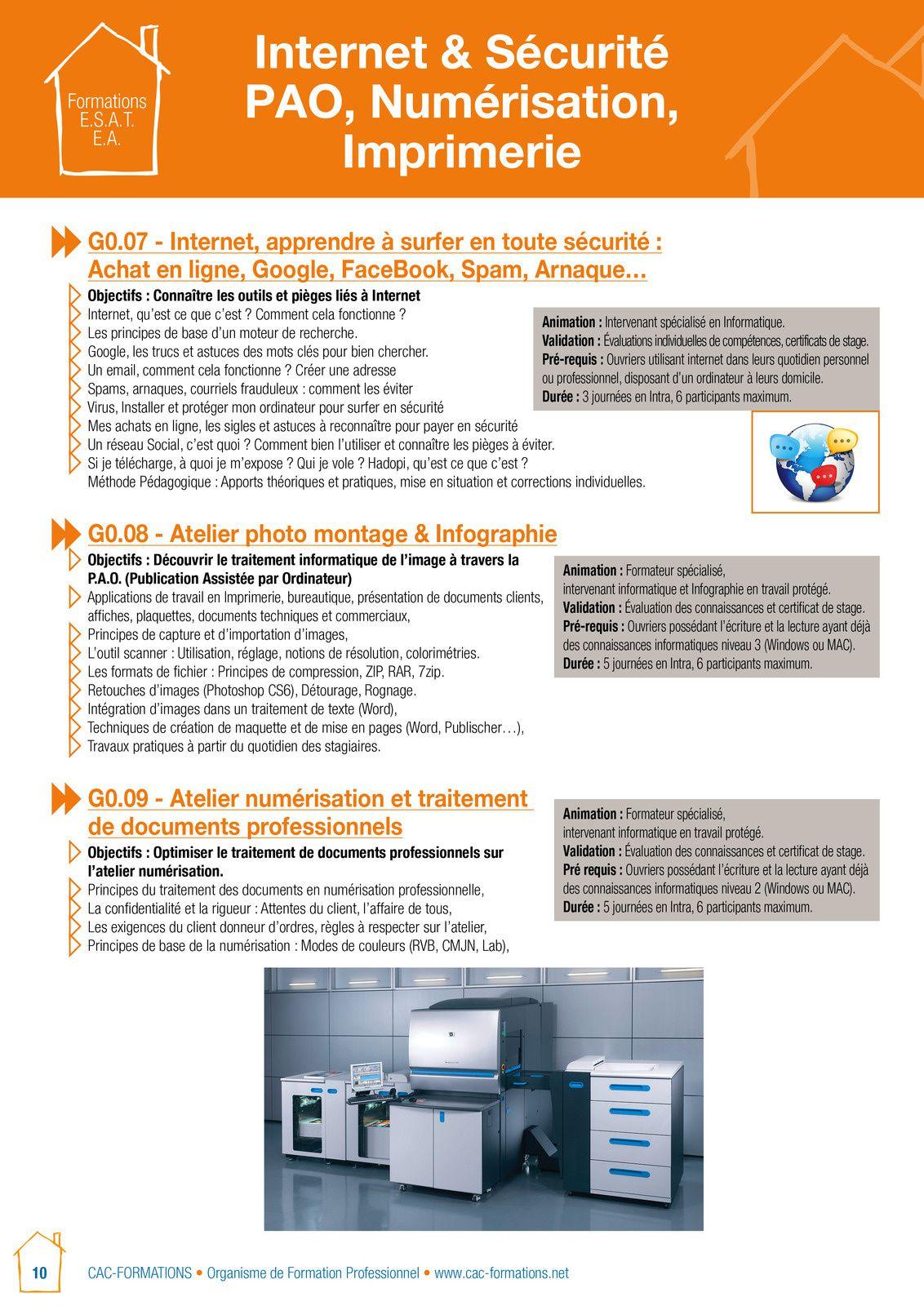 Une formation réalisée également dans le cadre  des ACR d'UNIFAF