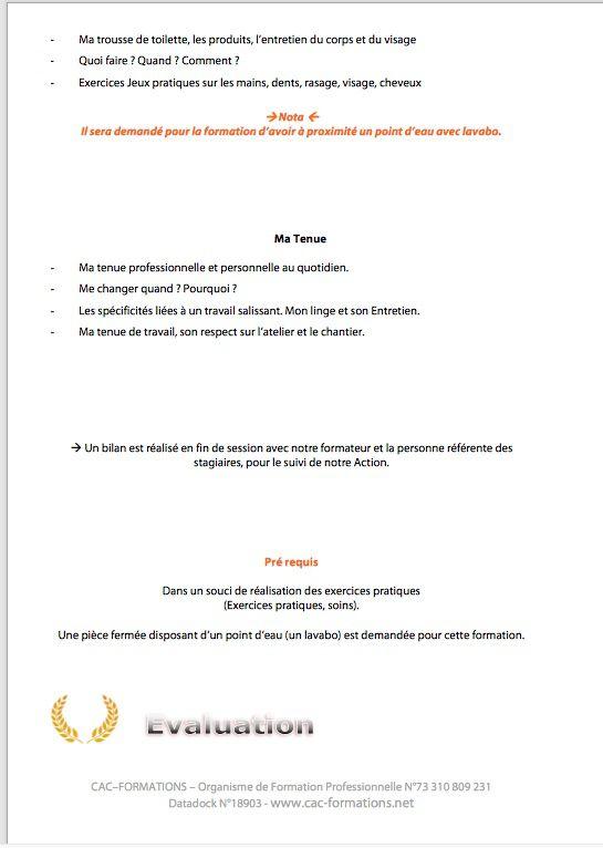 formation  Sécurité Santé au COVID 19 en ESAT