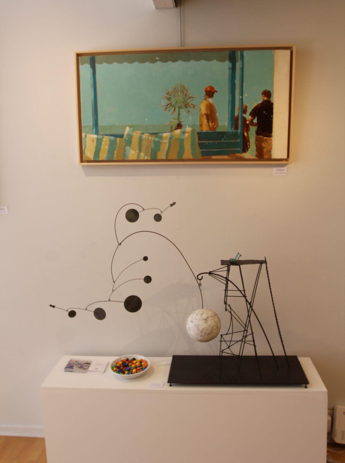 Quelques photos de l'expo summertime à Lill' Art Gallery