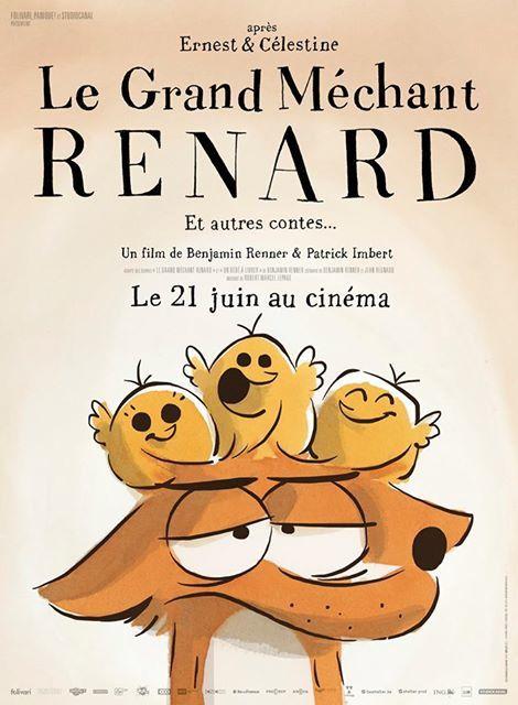 Mecredi séance ciné : Le Grand Méchant Renard