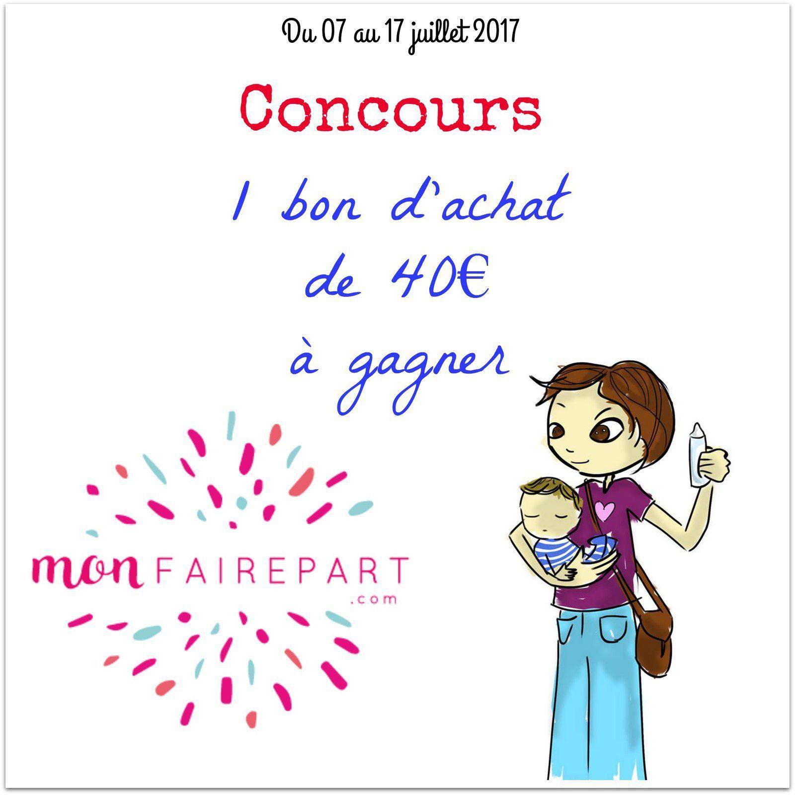 Annoncer un évènement joyeux avec monfairepart.com [+ concours]