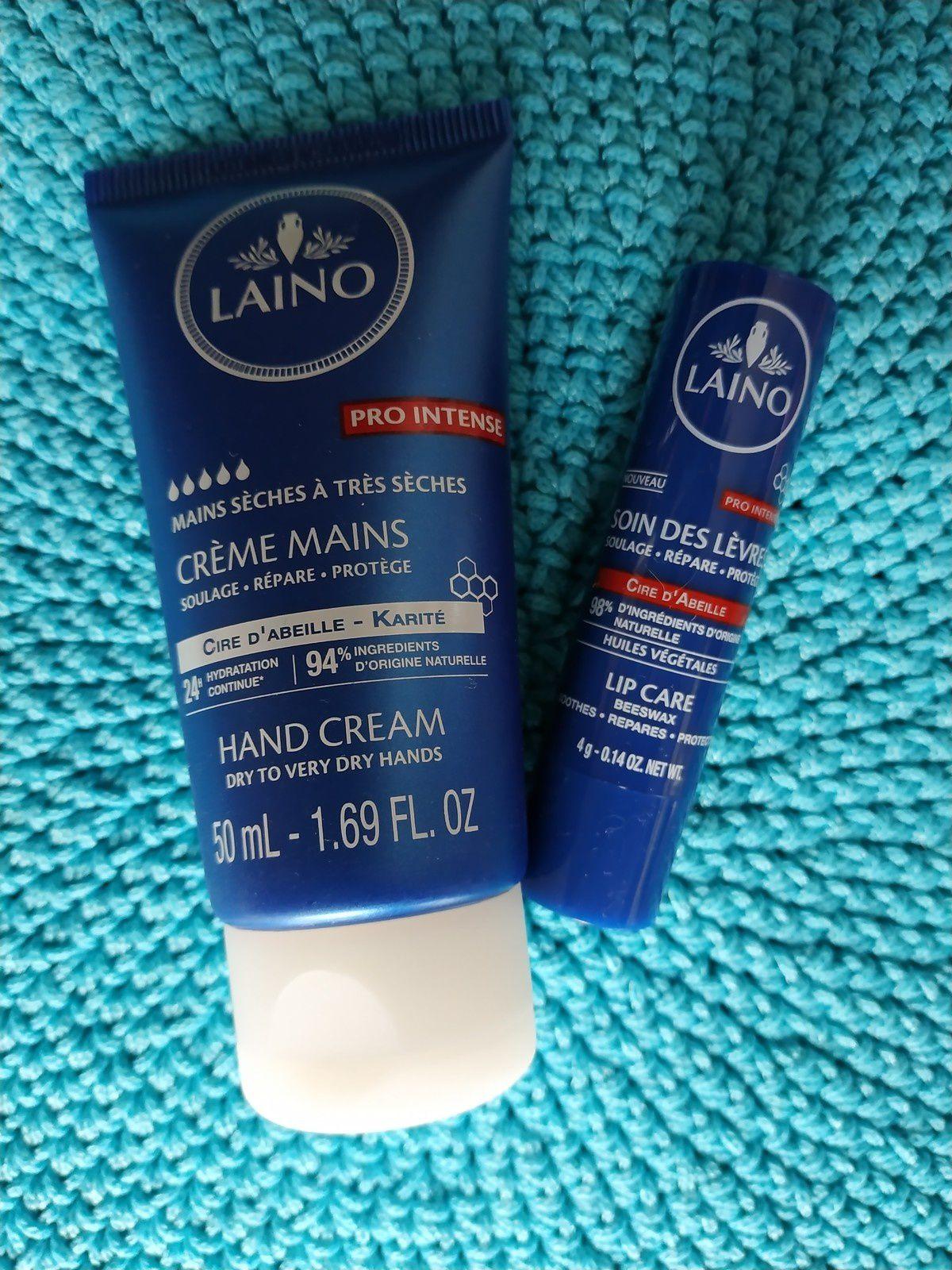 Crème Mains + Stick Lèvres #Laino