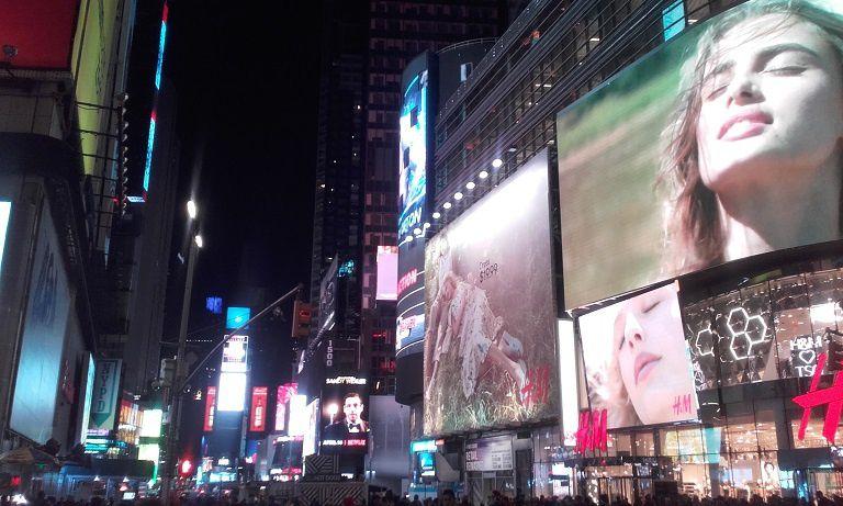 New York, côté Jardin...