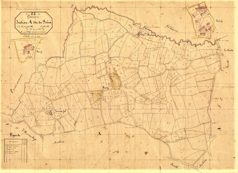 cadastre 1848