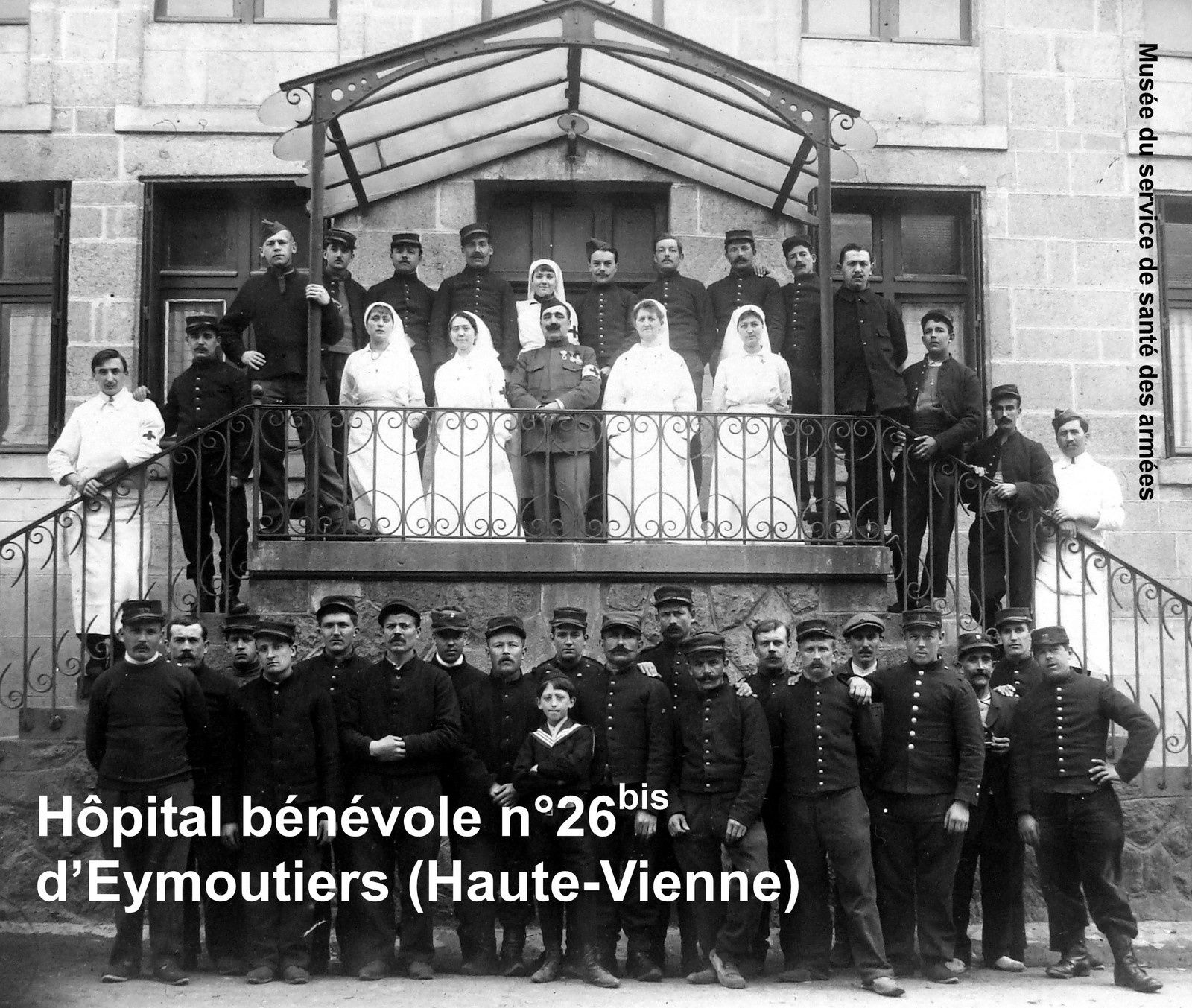 HOPITAL BENEVOLE 1914-1918