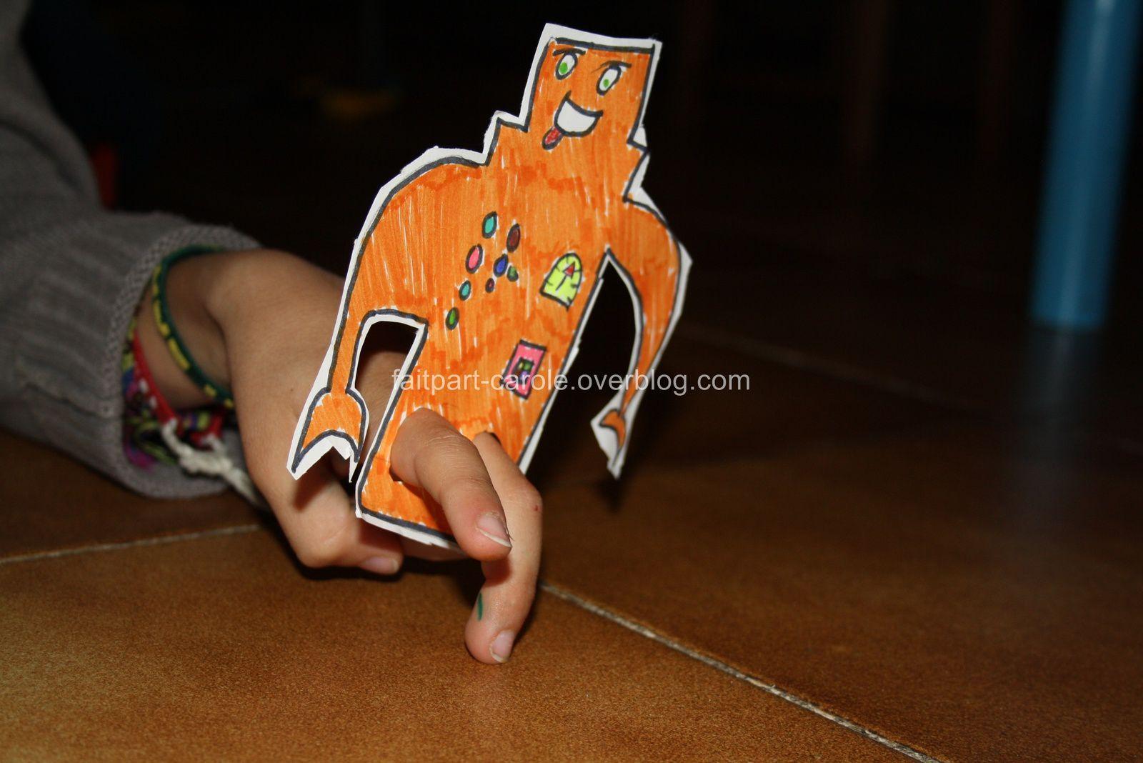 Marionnette à doigts