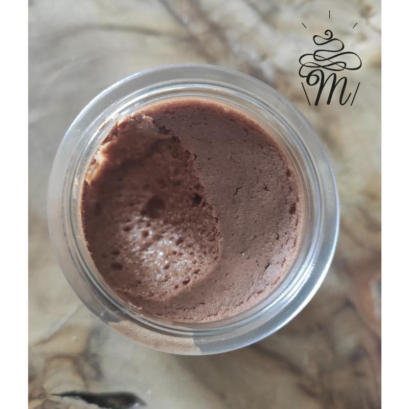 Mousse au chocolat sans oeufs sans sucre