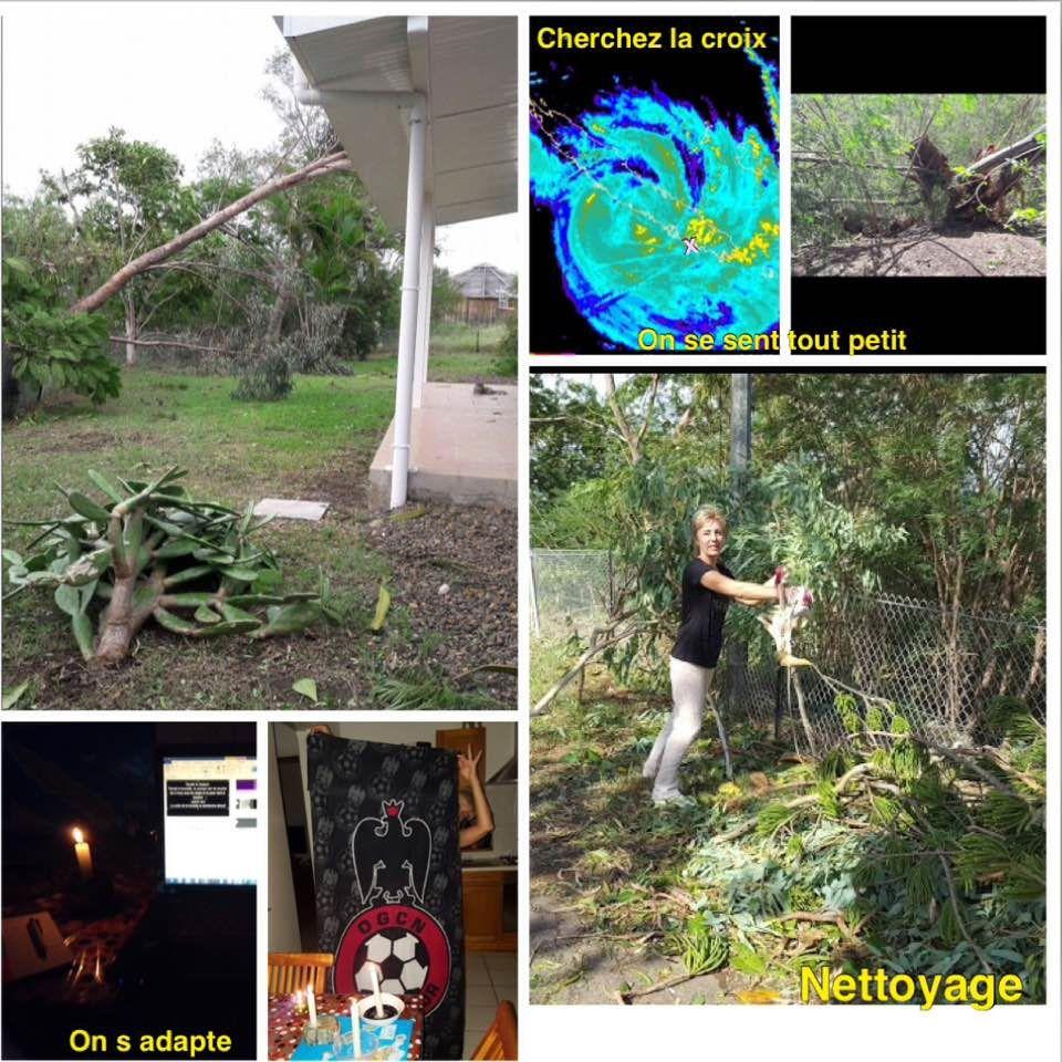 J' ai vécu l' ouragan COOK