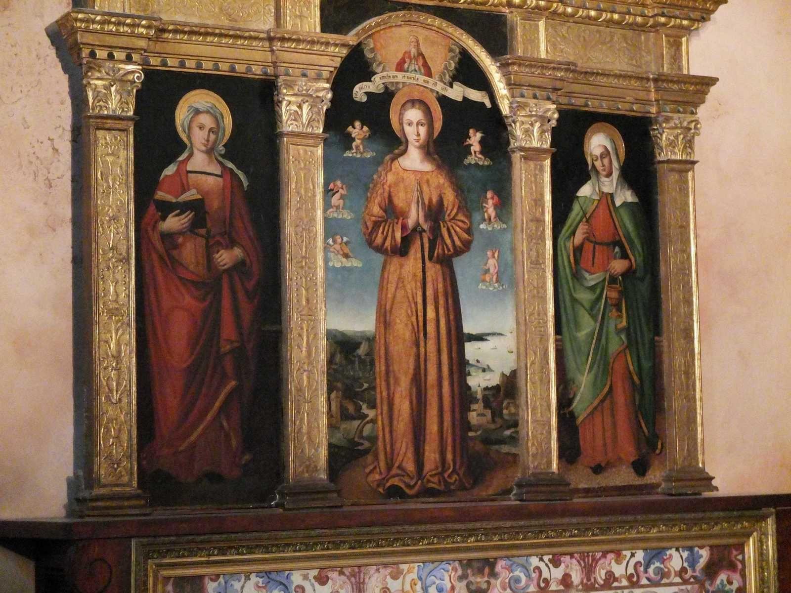 La Vierge Immaculée (détail)