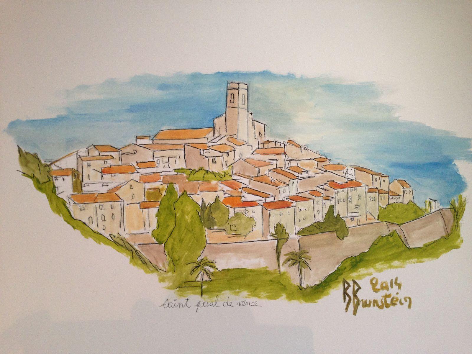 Saint-Paul-de-Vence  -  Bernard Brunstein