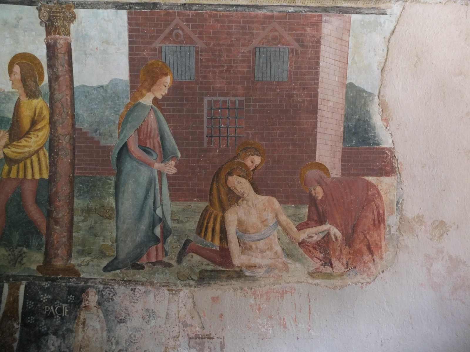 Arrachement de saint Sébastien au cloaque