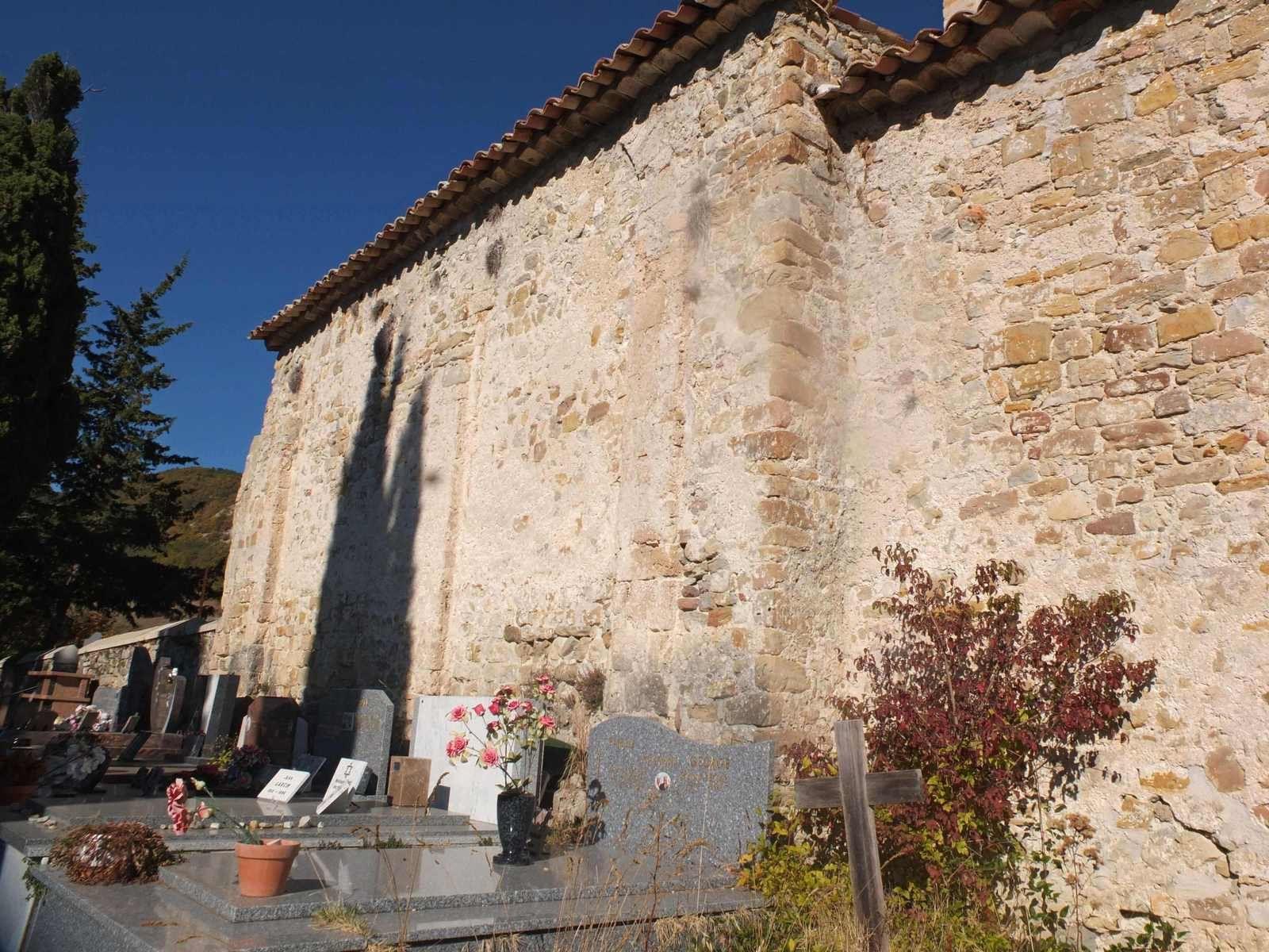 Mur sud qui aurait été un mur interne