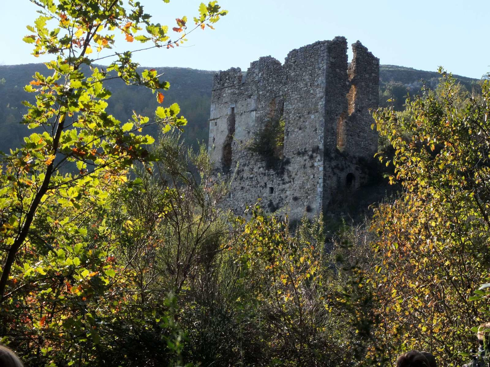 Site médiéval du château du Malvan et de la chapelle Saint-Raphaël.