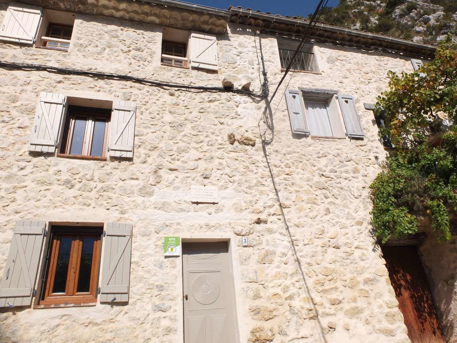 La maison où est né Célestin Freinet