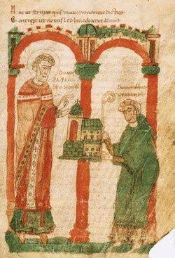 Le Pape Léon, nomination d'un abbé
