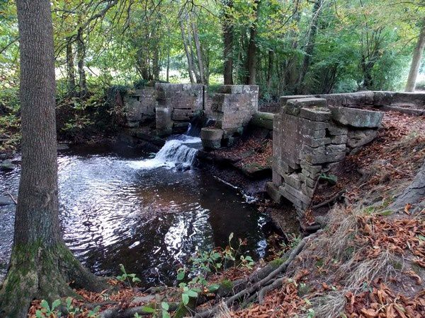 Le barrage sur l'Ehn