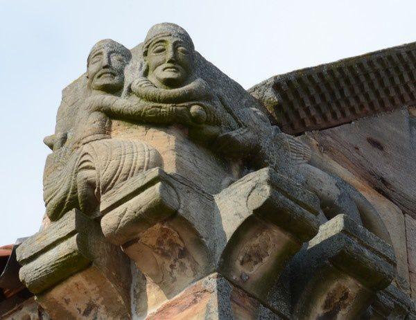 Dietrich de Bern combat un dragon à Andlau et à Rosheim