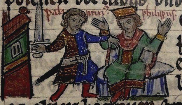 L'assassinat de Philippe de Souabe