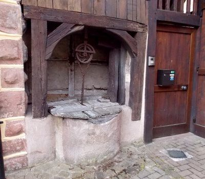Les vieux puits d'Obernai
