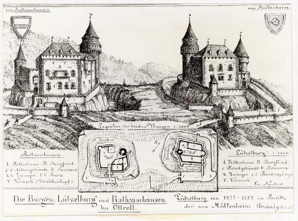 Pourquoi deux châteaux au dessus d'Ottrott ?