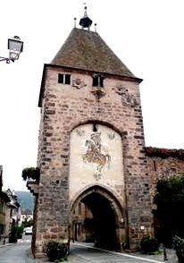 Console de l'ancienne synagogue d'Obernai