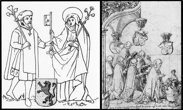 Rosine de Stein, dernière abbesse de Niedermunster