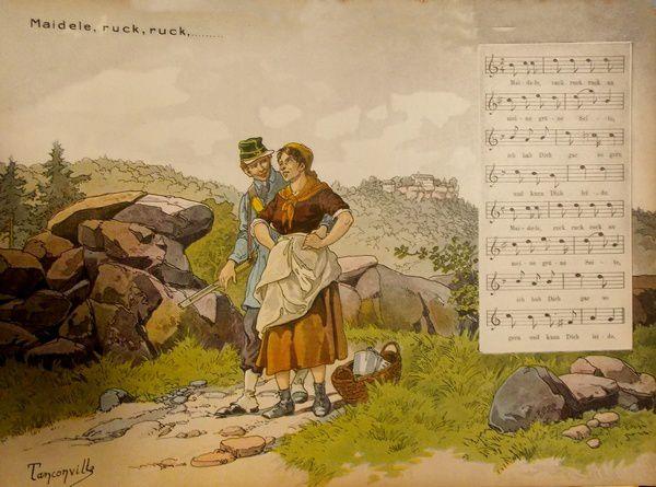 La chanson illustrée par Tanconville
