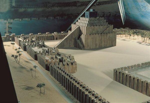La Tour de Babel dans l' Hortus Deliciarum