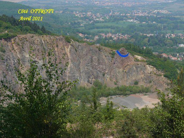 Le Bockstein ( marque bleue ) en 2011. Photo GaD