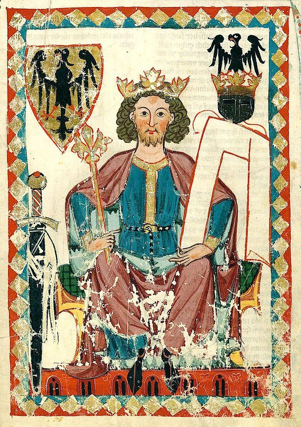 Henri VI le Cruel, Codex Manesse