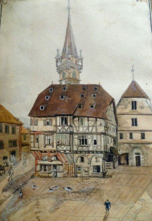 Le poêle des Vignerons, Obernai