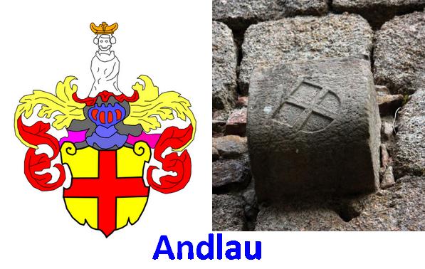 Armes de la famille d'Andlau