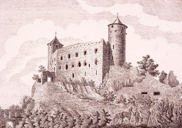 Lithographie, Imlin, 1816