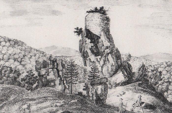 Steinschloss, le Château de la Roche