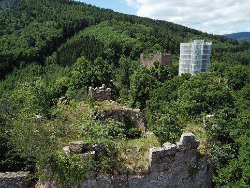 Dans le donjon de Rathsamhausen