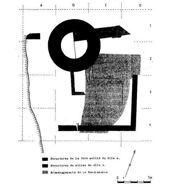Plan du Vieux Lutzelbourg, Danielle Fèvre