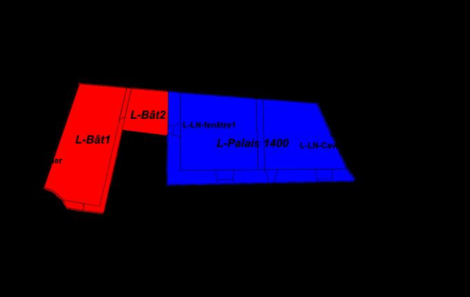 Lutzelbourg, le premier logis nord