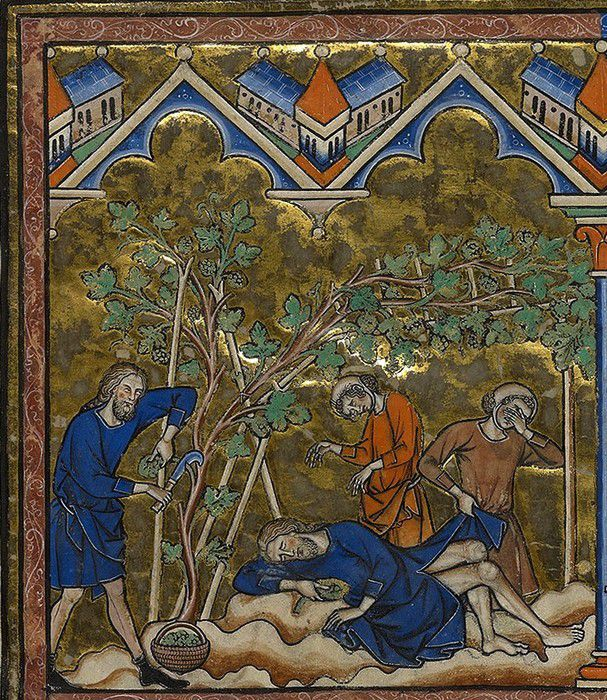 Bible des Croisades MS M.638 folio 3 recto