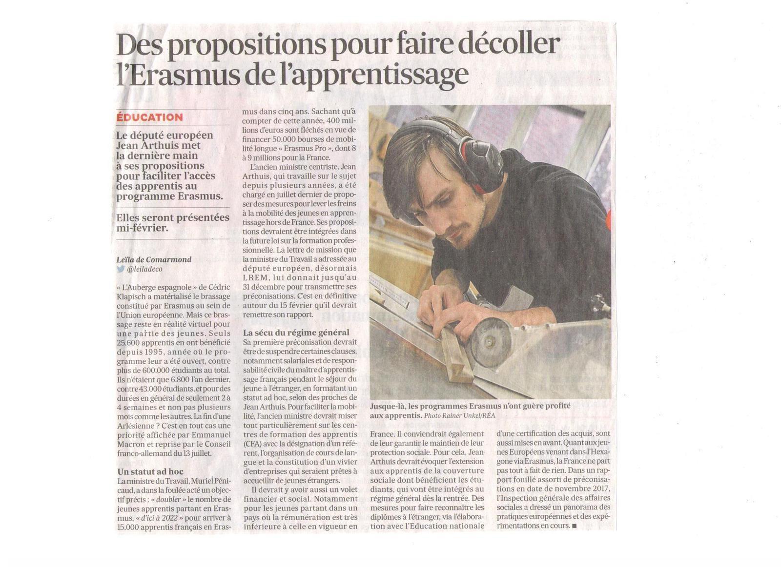Vus et lus dans Les Echos du 04/01/18, Le Monde du 22/11/17 & du 20/12/17, et M Le magazine du Monde