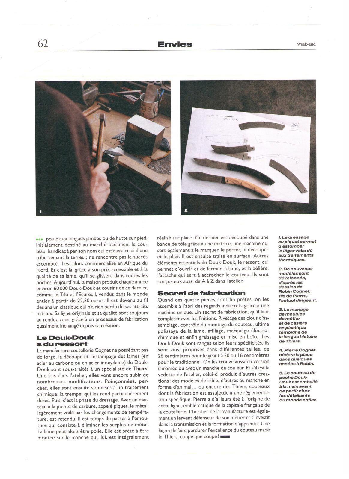Vu et lu dans Le Parisien Weekend du 02/02/18