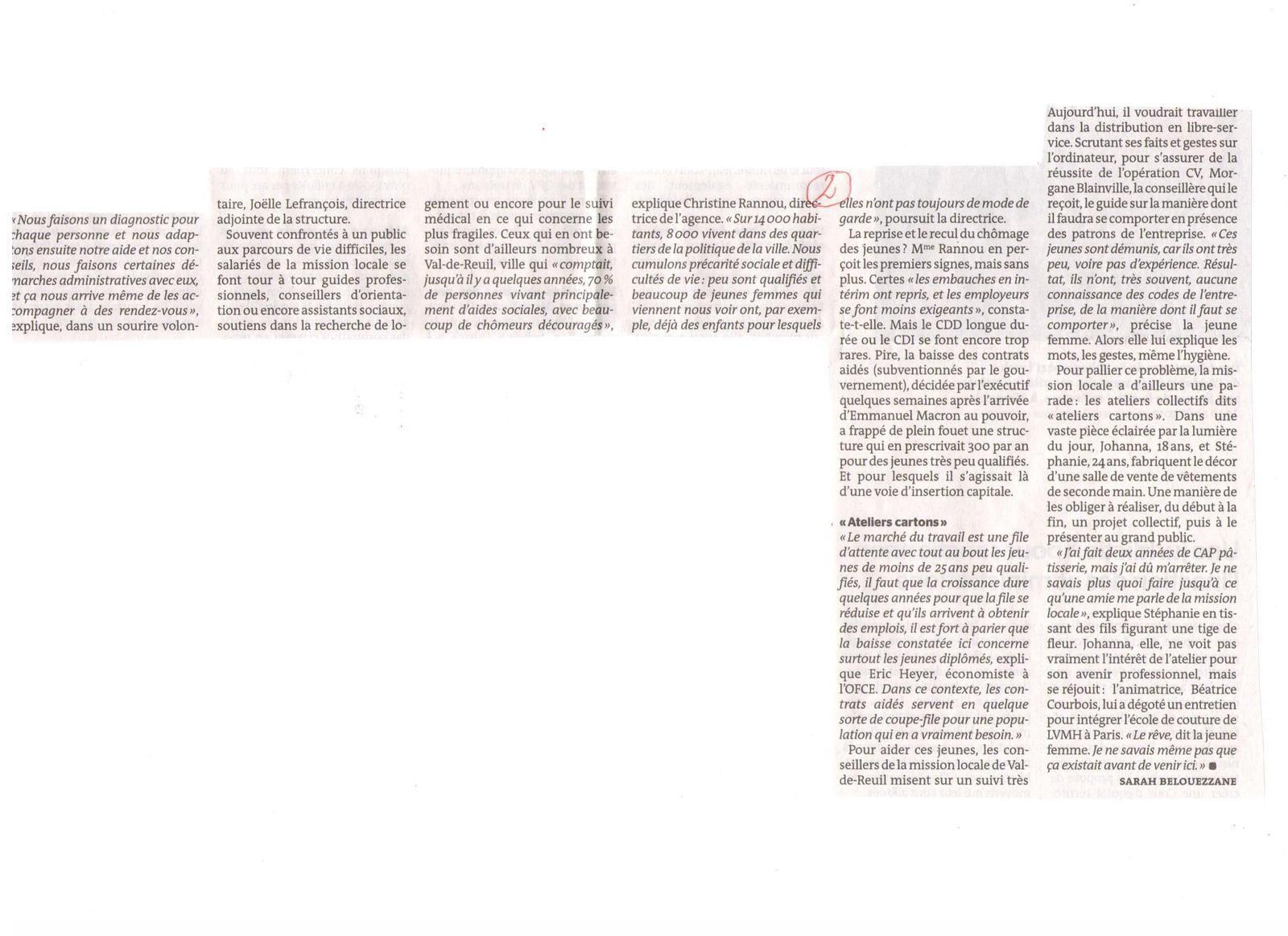 Vus et lus dans Le Parisien Eco du 14/05/18, et Le Monde du 27/04/18