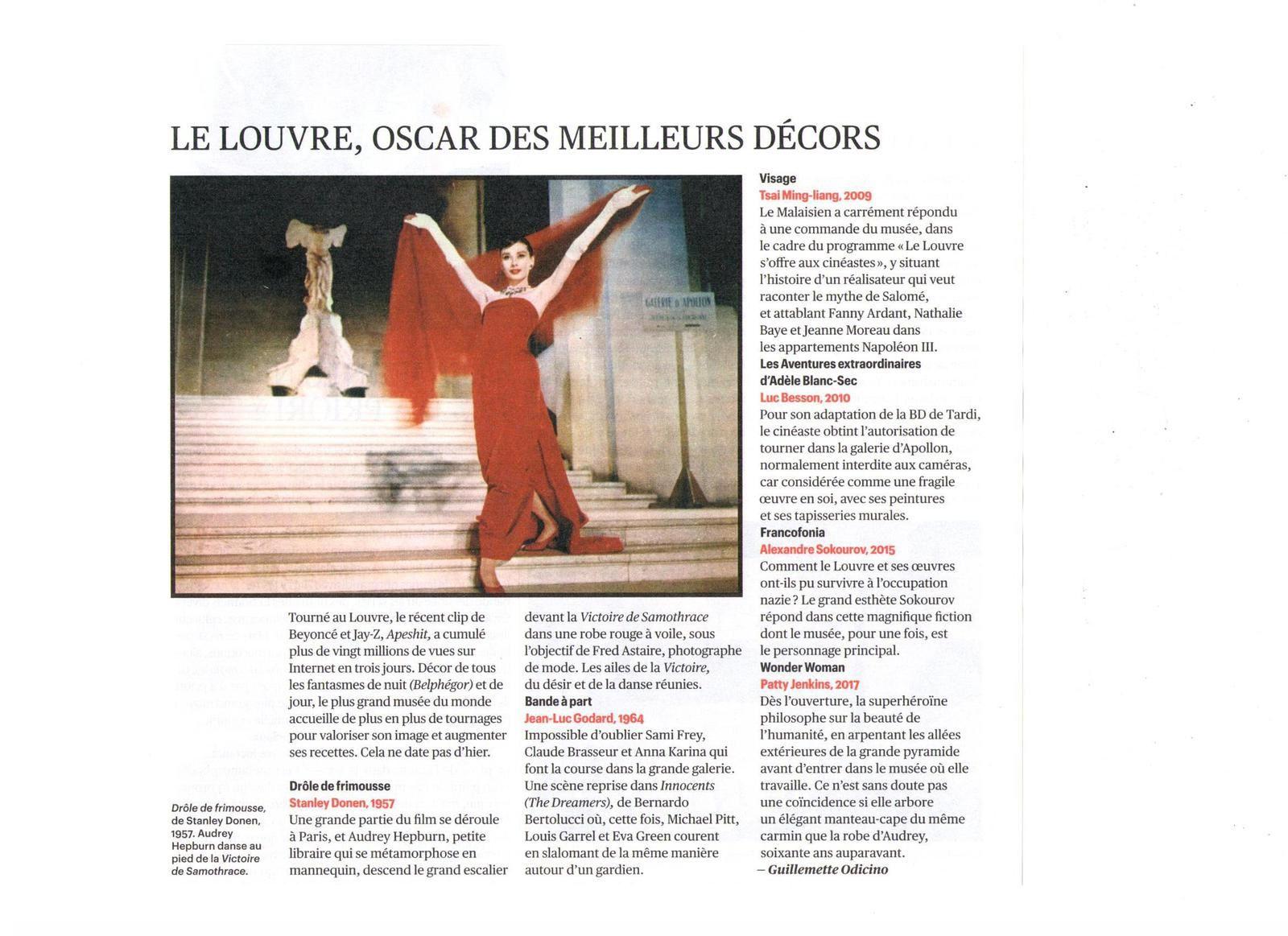Vus et lus dans Télérama n° 3572 du 27/06/18, Le Monde du 24/06/18