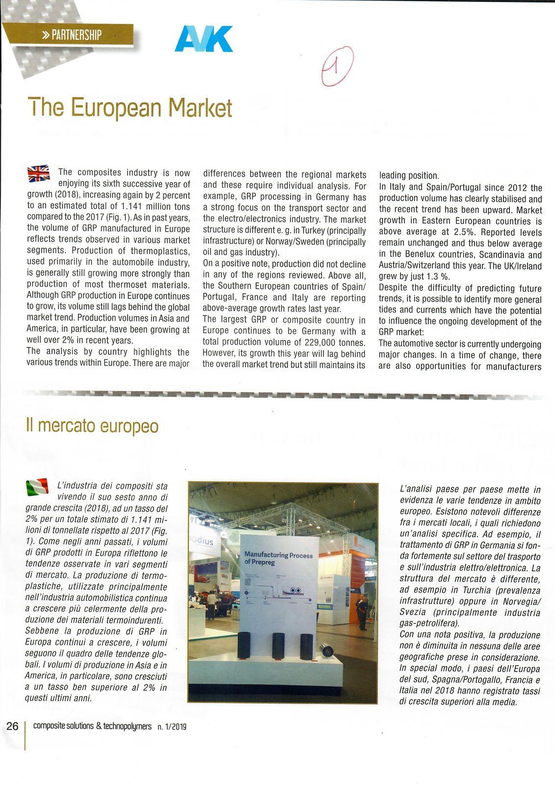 Vu et lu dans Composite Solutions & Technopolymers