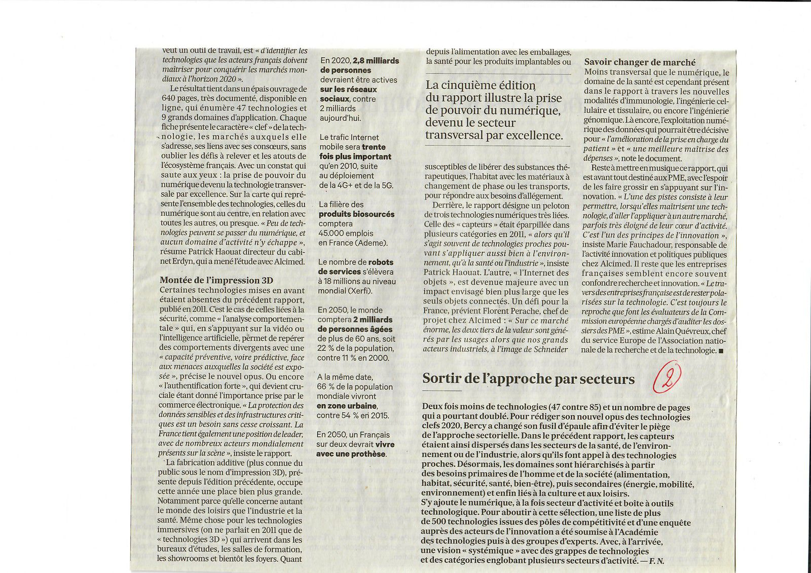 Vu et lu dans Les Echos du 24/05/16