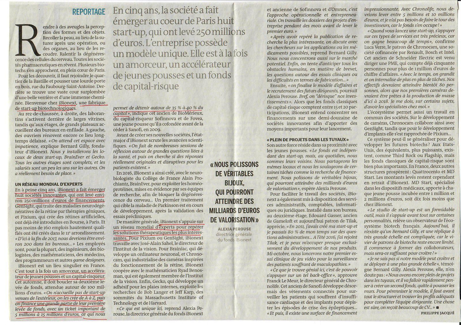 Vu et lu dans Le Monde du 30/08/17