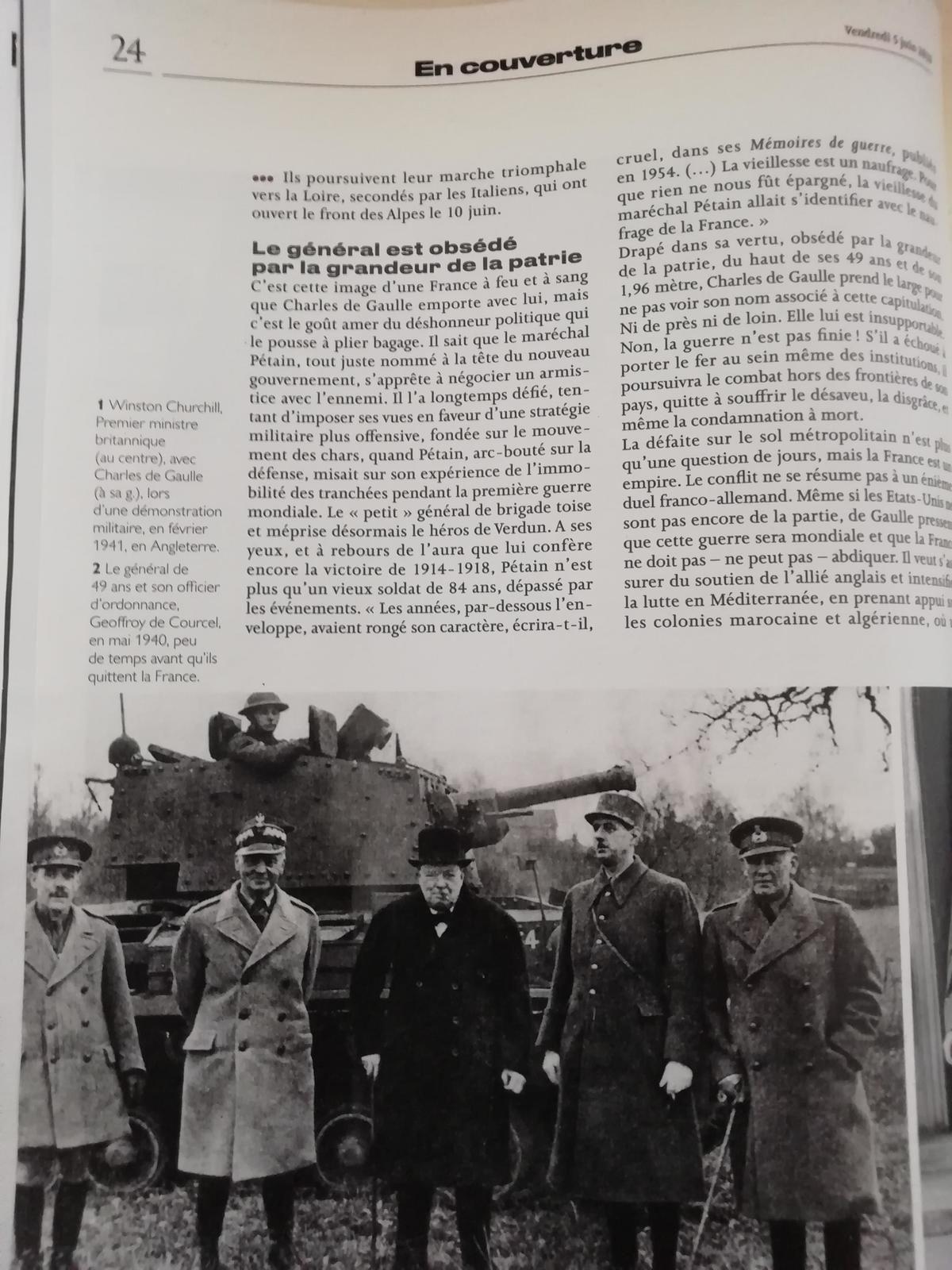 Vu et lu dans Le Parisien Week-End n° 23564 du 05/06/20
